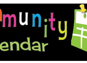 "Community Calendar ""Follow""us!"
